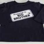T-shirt voorzien van tekst naar keuze € 11,95
